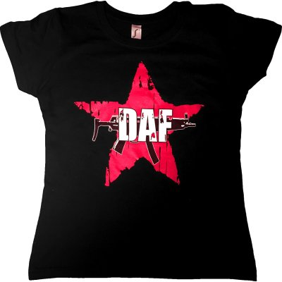 Girly-Shirt DAF Roter Stern