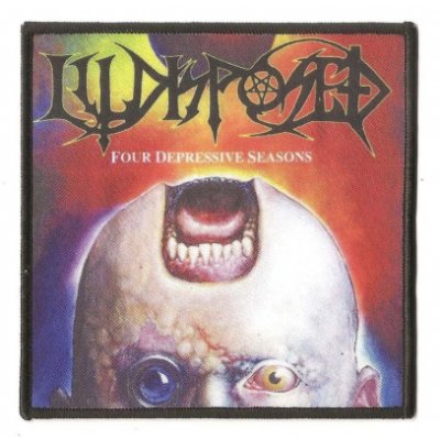 Aufnäher ILLDISPOSED Four Depressive Seasons PRINTED PATCH
