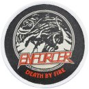 Patch ENFORCER Death By Fire Patch 8 cm