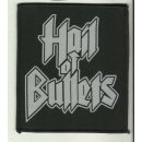 Patch HAIL OF BULLETS Logo Woven Patch 11 x 9,5 cm
