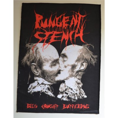 Backpatch PUNGENT STENCH Been Caught Buttering 30,3 x 22,5 cm