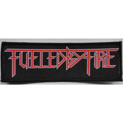 Patch FUELED BY FIRE Logo Patch 14,5 cm x 4,5 cm