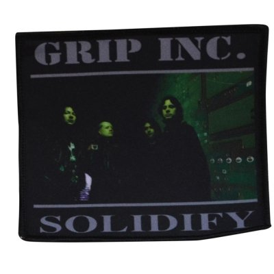 Aufnäher GRIP INC. Solidify