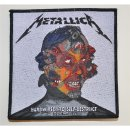 Patch METALLICA Hardwired To Self Destruct 10,2 x 10 cm