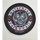 Patch MOTORHEAD Biker Badge 9,2 cm
