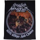 Patch SAVAGE MASTER With Whips And Chains Backpatch 23,5...