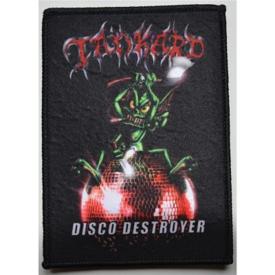 Patch TANKARD Disco Destroyer Patch 11,6 x 8,2 cm