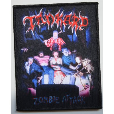 Patch TANKARD Zombie Attack Patch 10 x 8 cm