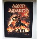 Backpatch AMON AMARTH Surtur Rising 30 cm x 36,3 cm