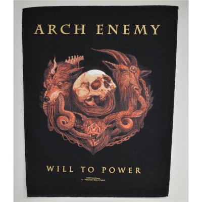Backpatch ARCH ENEMY Will To Power