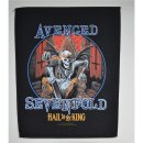 Backpatch AVENGED SEVENFOLD Hail To The King