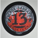 Backpatch BLACK SABBATH 13 Circular