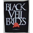 Backpatch BLACK VEIL BRIDES Rose 30 cm x 36 cm