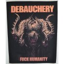 Backpatch DEBAUCHERY Fuck Humanity