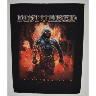 Backpatch DISTURBED Indestructible