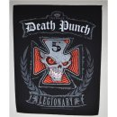 Backpatch FIVE FINGER DEATH PUNCH Legionary 30 cm x 35,8 cm