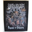 Backpatch ICED EARTH Plagues Of Babylon - 29,7 cm x 36,7 cm