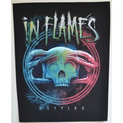 Backpatch IN FLAMES Battles