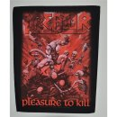 Backpatch KREATOR Pleasure To Kill