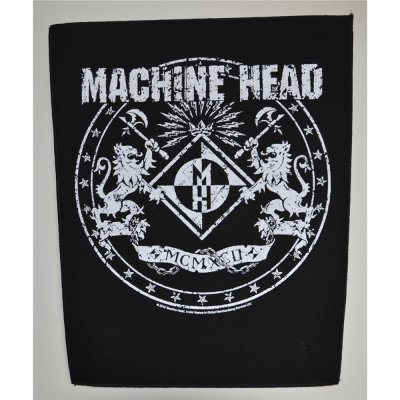 Backpatch MACHINE HEAD Crest