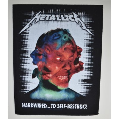 Backpatch METALLICA Hardwired To Self Destruct