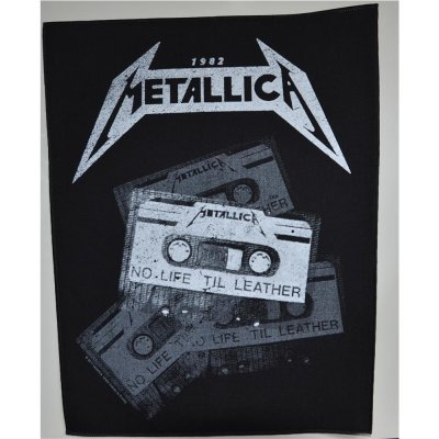 Backpatch METALLICA No Life Til Leather