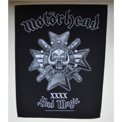 Backpatch MOTORHEAD Bad Magic 30 cm x 36,3 cm