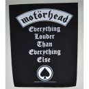 Backpatch Motörhead Everything Louder