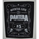 Backpatch PANTERA 101% Proof