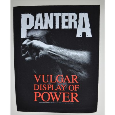Backpatch PANTERA Vulgar Display Of Power