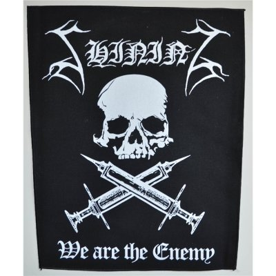 Backpatch SHINING We Are The Enemy