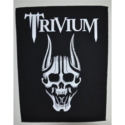 Backpatch TRIVIUM Screaming Skull