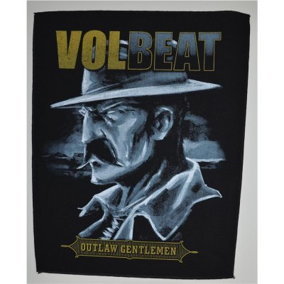Backpatch VOLBEAT Outlaw Gentlemen