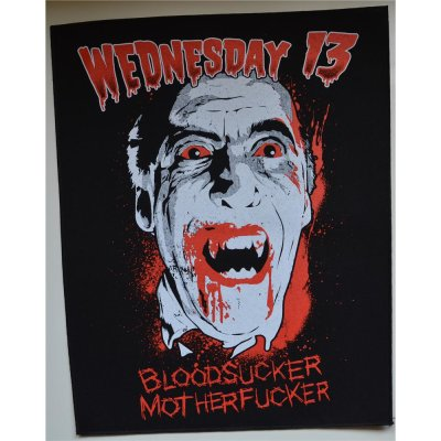 Backpatch WEDNESDAY 13 Bloodsucker