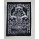 Patch AMON AMARTH Three Skulls 9,8 cm x 7,4 cm