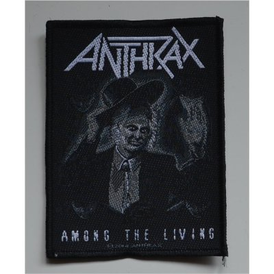 Aufnäher ANTHRAX Among The Living