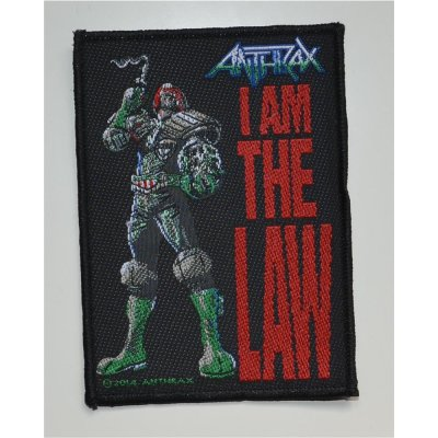 Aufnäher ANTHRAX I Am The Law