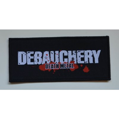 Patch DEBAUCHERY Logo - 14,2 cm x 6,3 cm