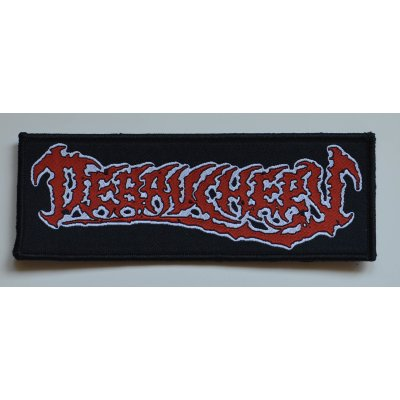 Patch DEBAUCHERY Old Logo - 14 cm x 5,2 cm