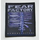 Aufnäher FEAR FACTORY Demanufacture