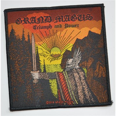 Patch GRAND MAGUS Triumph And Power 10,3 cm x 10,3 cm