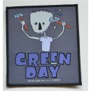 Patch GREEN DAY Hammer Face 10,2 cm x 11,2 cm