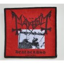 Patch MAYHEM Deathcrush 10,3 cm x 9,8 cm