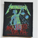 Patch METALLICA And Justice For All 8,6 cm x 10,2 cm