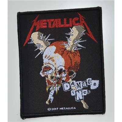 Patch METALLICA Damage Inc. 8,3 cm x 10,3 cm
