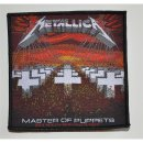 Patch METALLICA Master Of Puppets 10,4 cm x 10,4 cm