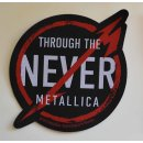 Patch METALLICA Through The Never 13,7 cm