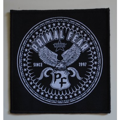 Patch PRIMAL FEAR Metal Since 1997 - 9,8 cm x 10,2 cm