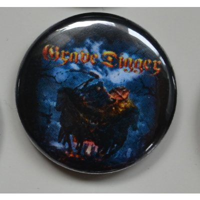 Button GRAVE DIGGER 10 Return Of The Reaper Buttons