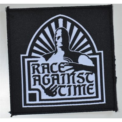 Patch RACE AGAINST TIME 10,3 cm x 10,3 cm